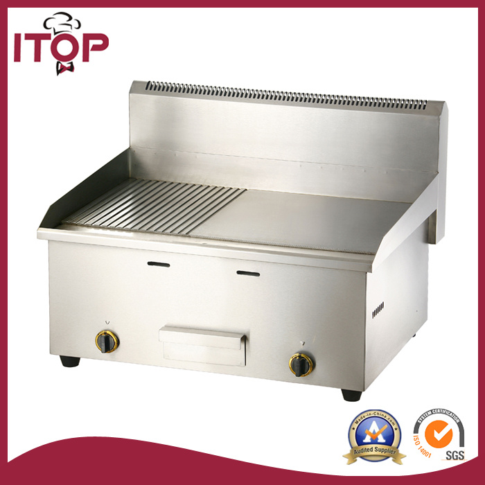Industrial Stainless Steel Gas Griddle (PGT)