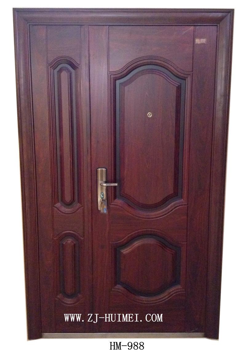 China Steel Security Door Son Mother Door Exterior Door Interior Door Photos Pictures