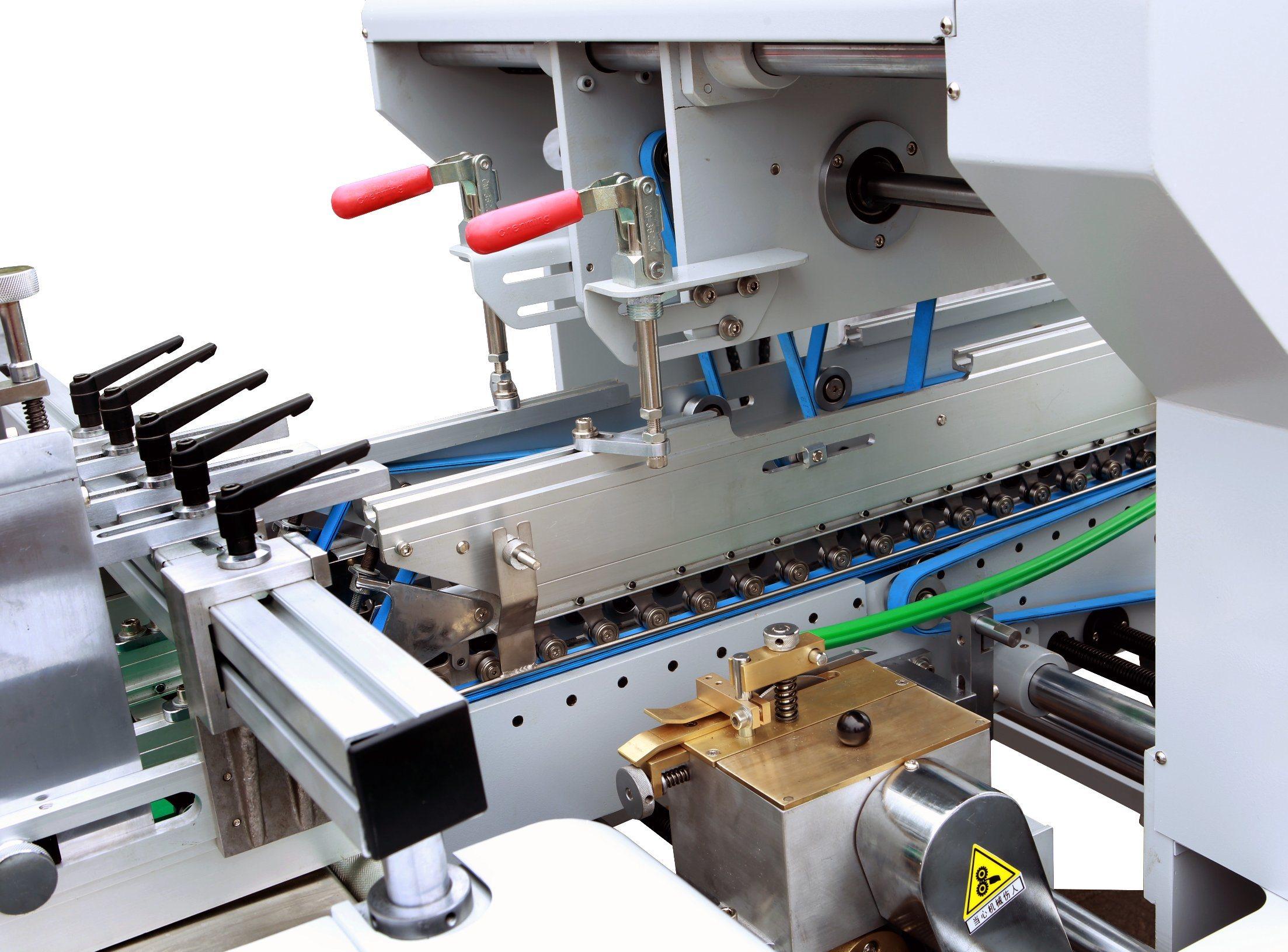 Xcs-800PC Prefolding Lock Bottom Folder Gluer for Pizza Box