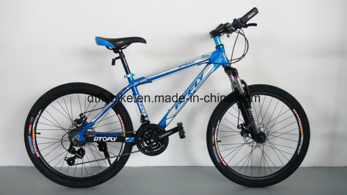 Bike: 24 Challenger Mountain Bike, with Shimano 21s, Disc-Brake