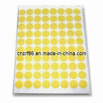 2015 Fashion Paper Non-Setting Adhesive Stickers