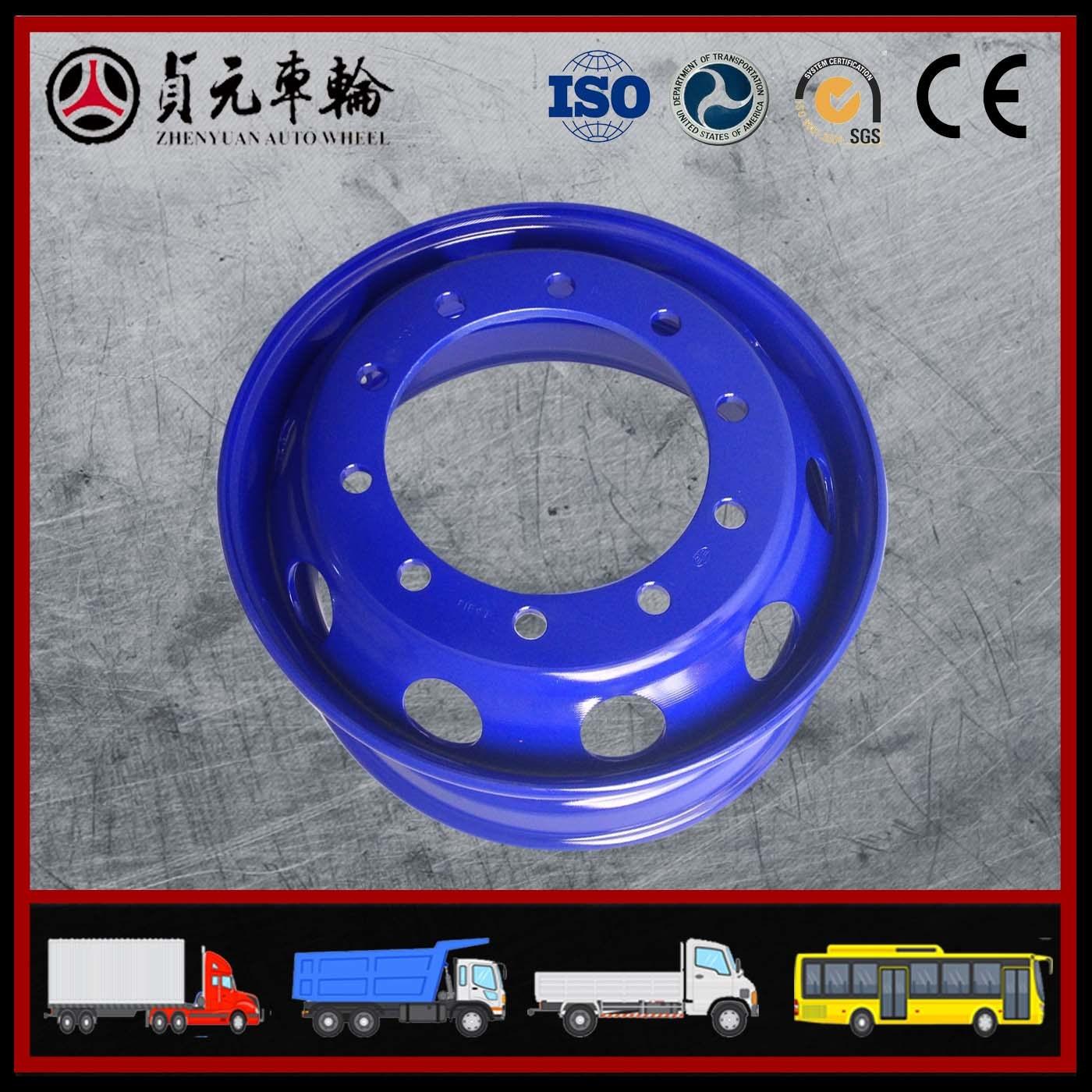 Zhenyuan Auto Wheel Tubeless Wheel (7.50*22.5)