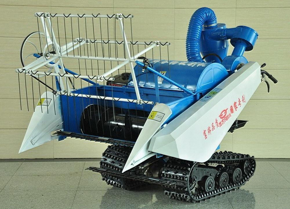 4lz-1.0 (0.7) Full-Feed Combine Harvester