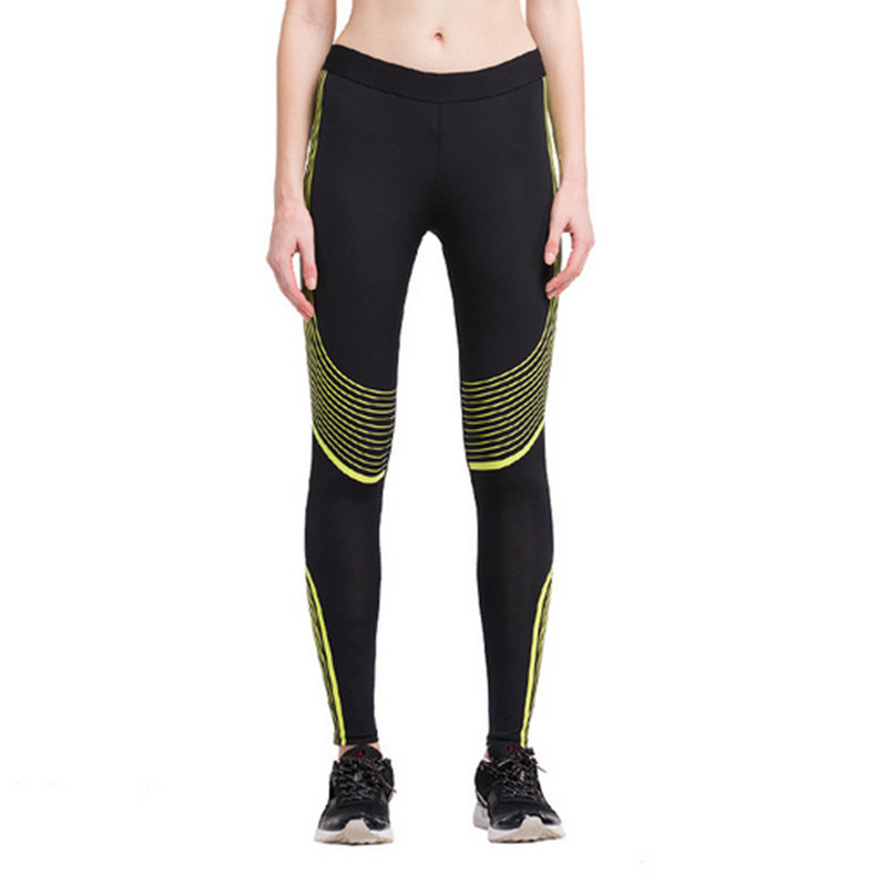 Low Price Good Quality Sublimation Printing Sweat Wicking Gym Women′s Yoga Pants