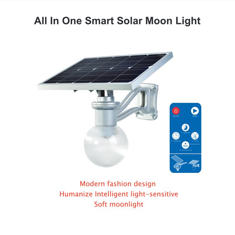 Bluesmart All in One Integrated Solar LED Garden Light