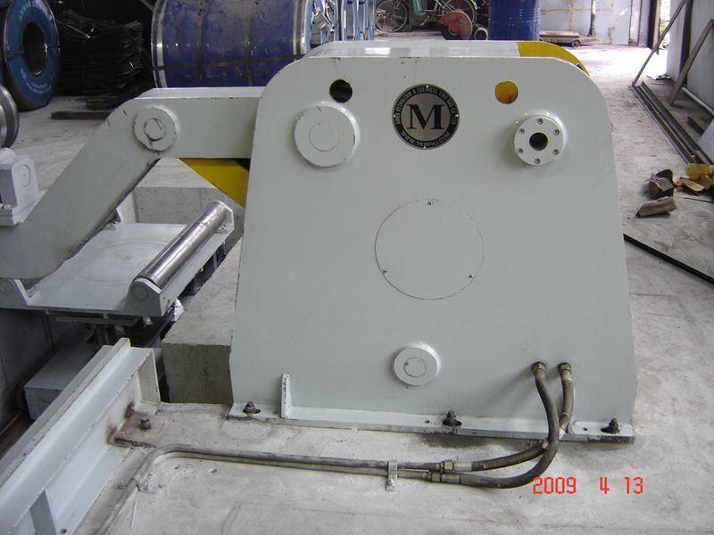 Decoiling Machine for Steel Barrel Drum Making Machine 200L 55 Gallon