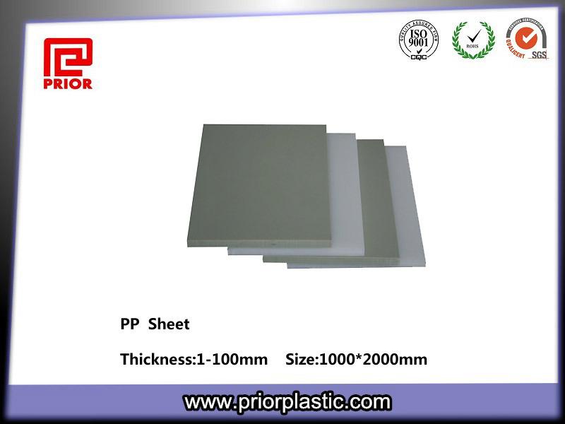 100% Virgin Polypropylene Sheet, PP Sheet