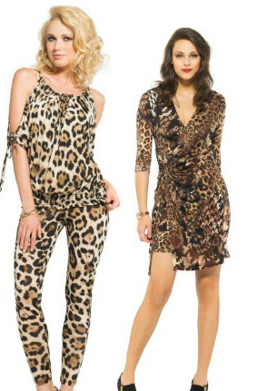 New Arrivals Sexy Leopard Lady's Fashion Dress 2014