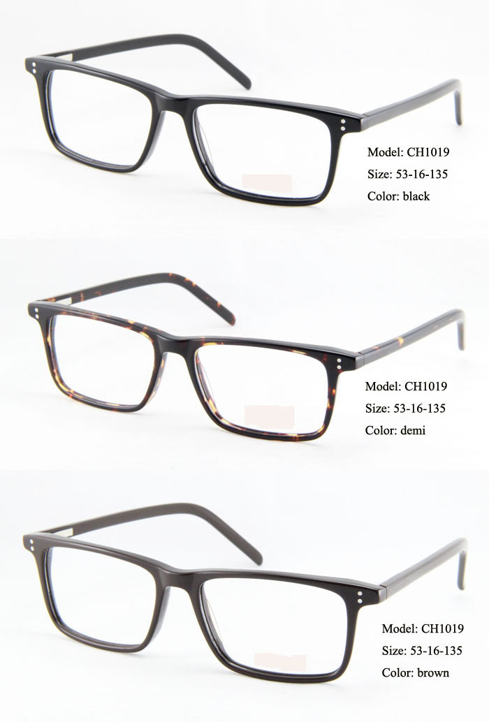 Top Brand Europe and American Vintage Retro Acetate ...