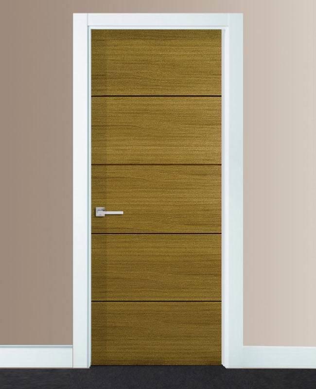 China Teak Veneer Wooden Door - China Teak Solid Wooden Door
