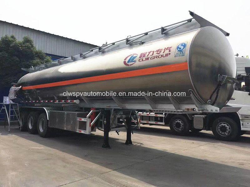 55000L Aluminum Alloy Tanker Trailer 50 Tons Fuel Tanker Trailer Price