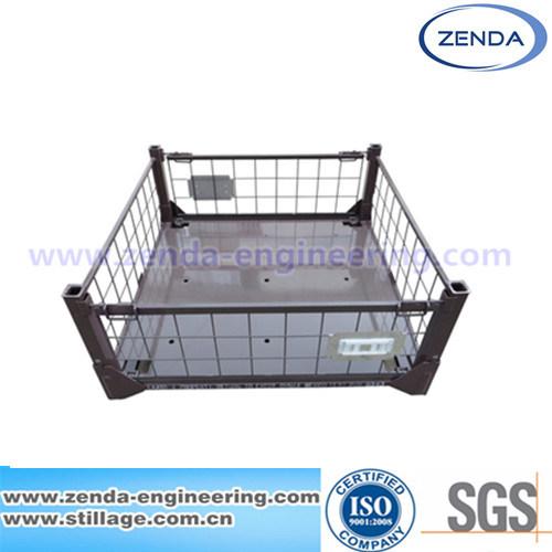 Stillage / Stillage Pallet Cage / Foldable Stillage / Metal Collapsible Pallet / Warehouse Steel Stillage / Logistic Stillage
