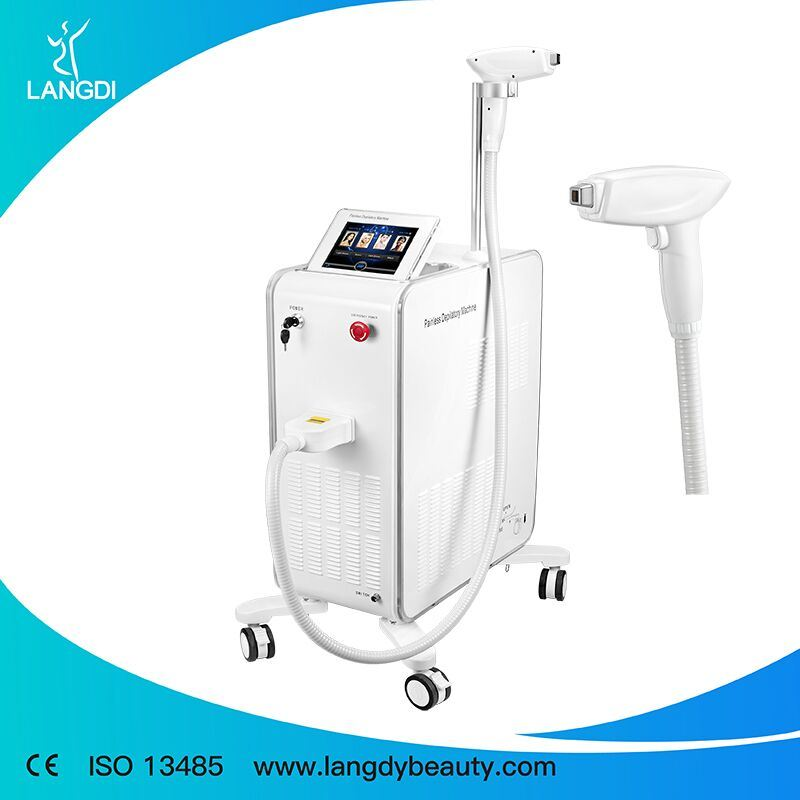Portable 808nm Hair Removal Machine with Sapphire Handle