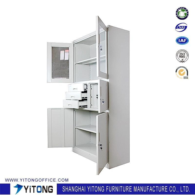 5-Door 3-Drawer Safe Metal Storage Cabinet / Office Use Steel File Cabinet