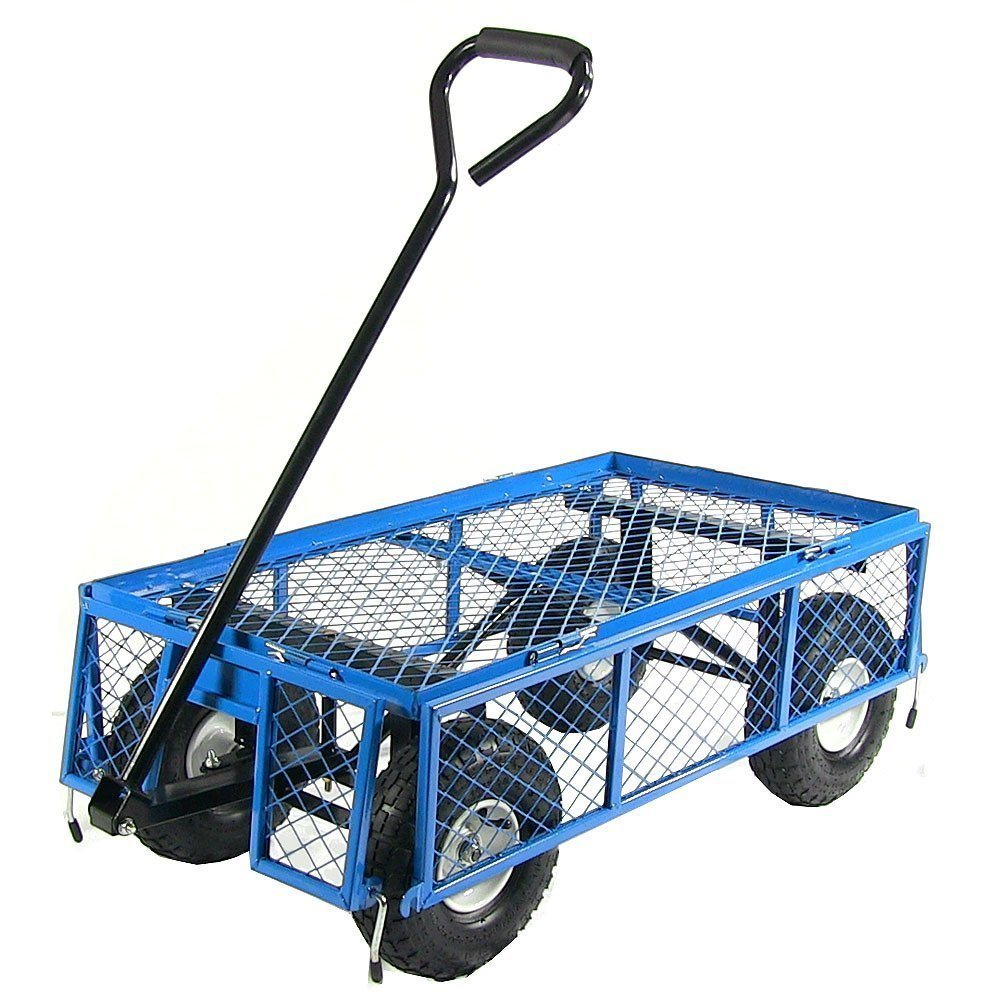 High Quality Steel Meshed Garden Cart (TC4205B)