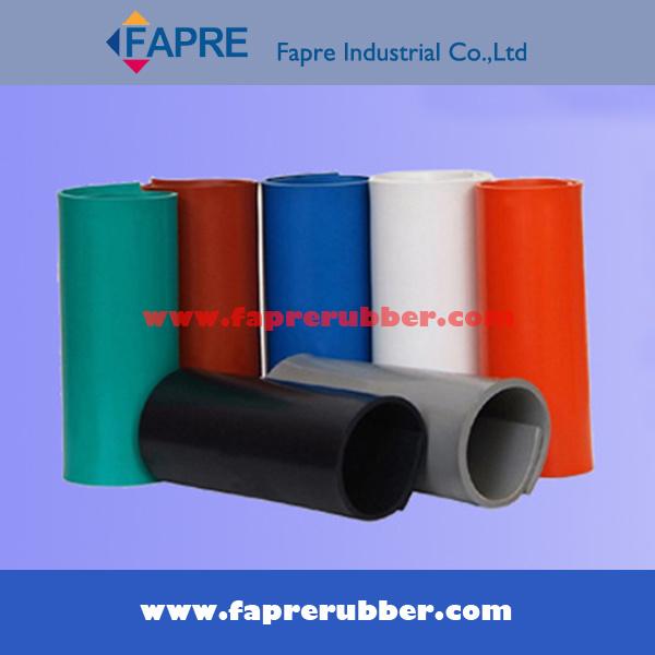 Nr/SBR/Br/Cr/NBR/EPDM/Iir/Silicone/Vititon Rubber Sheet in Roll.