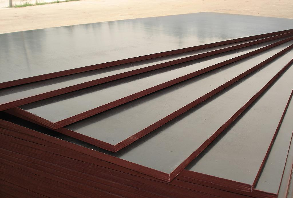 Film Faced Plywood with Melamine Glue for Outdoor Building Constrcution etc.