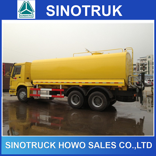 HOWO 10 Wheeler 20000liter Fuel Tanker Truck for Sale