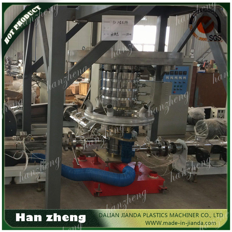 Special Shopping Bag Width Below 300mm Single Screw LDPE HDPE Sjm45-850 Blown Film Machine