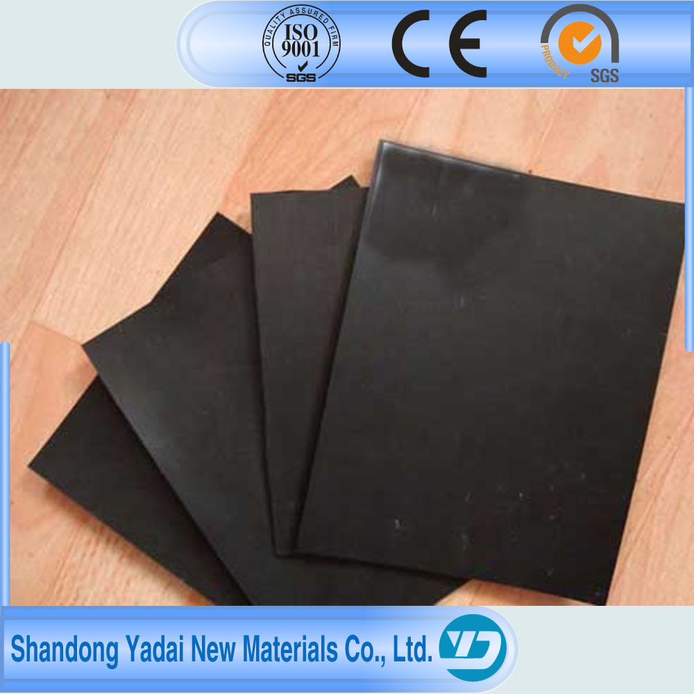 HDPE Geomembrane/ Black Plastic Sheeting Membrane Waterproofing