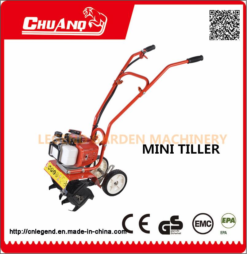 2-Stroke 52cc Mini Power Tiller Cultivators