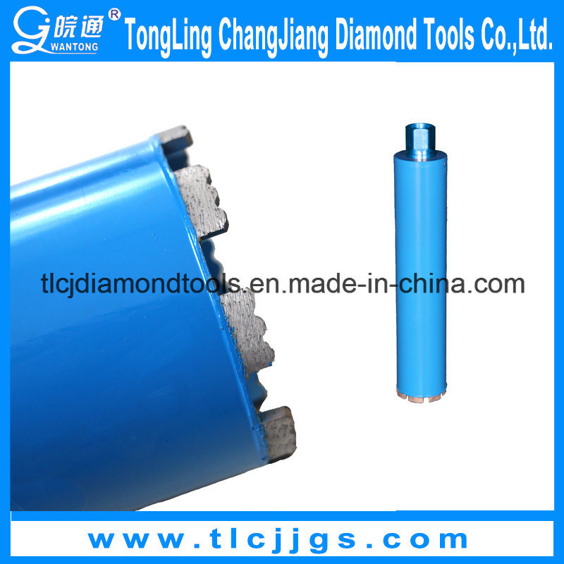 Professional Brazed Diamond Core Drill Bit