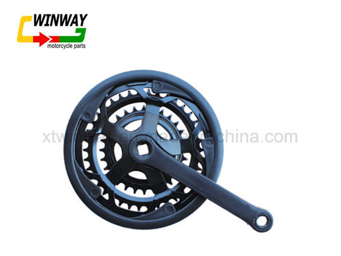 Hot Selling Bicycle Parts, Steel Chainwheel and Crank