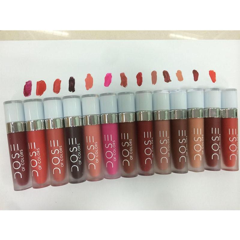 COS SOC Lip Gloss Lipstick Matte Lip gloss Enamel 12 Color