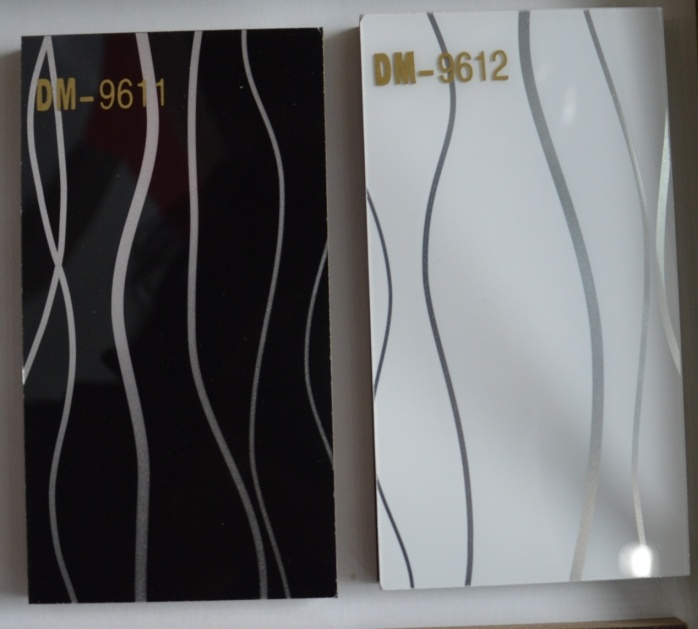 1220*2440*1mm Wooden Line Acrylic Sheet (DM-9611)