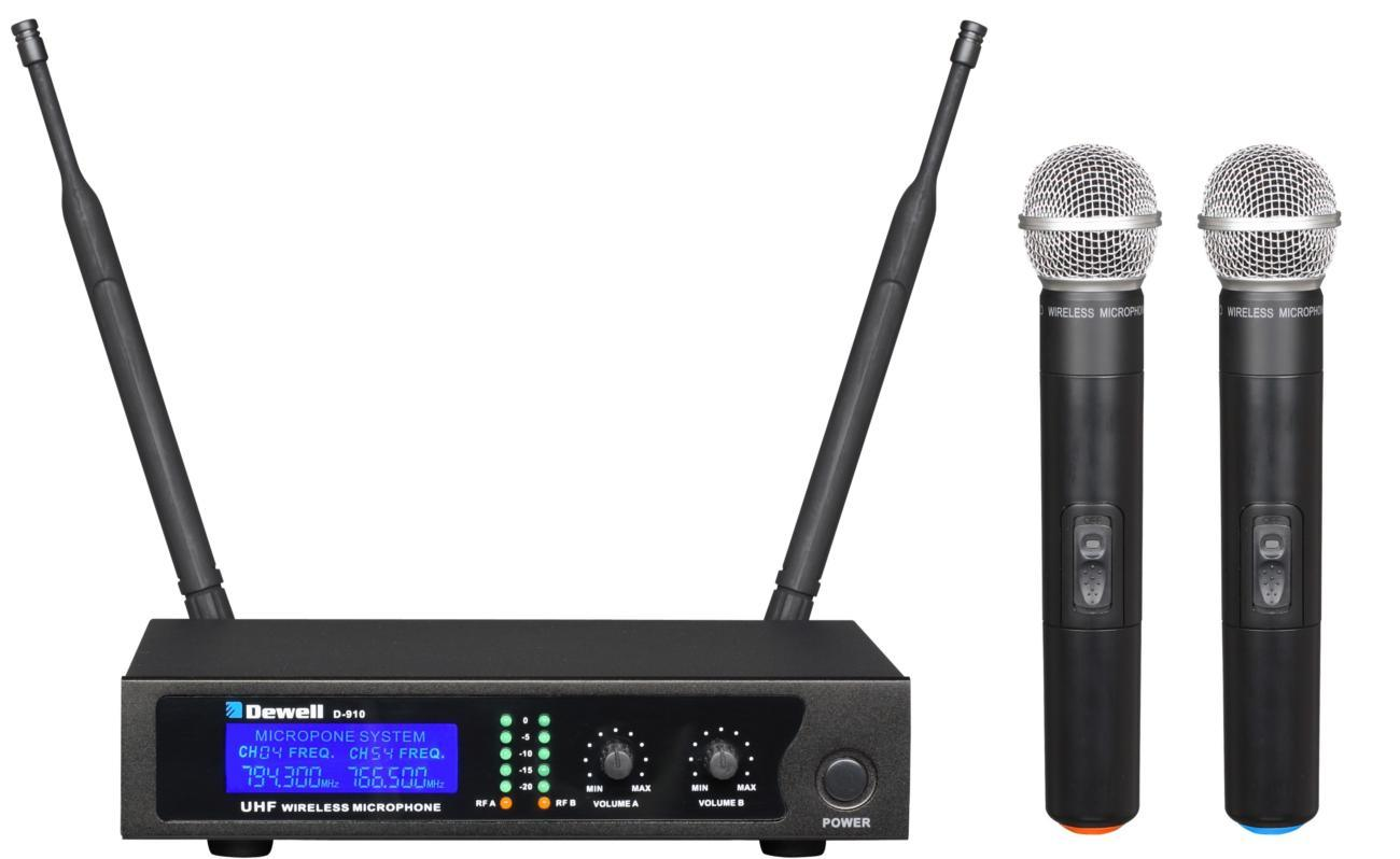 dewell professional uhf wireless microphone china smart size beautiful sound. Black Bedroom Furniture Sets. Home Design Ideas