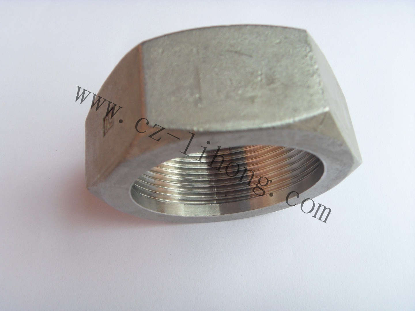 "4"" Stainless Steel 316 DIN2999 Hex Nut"