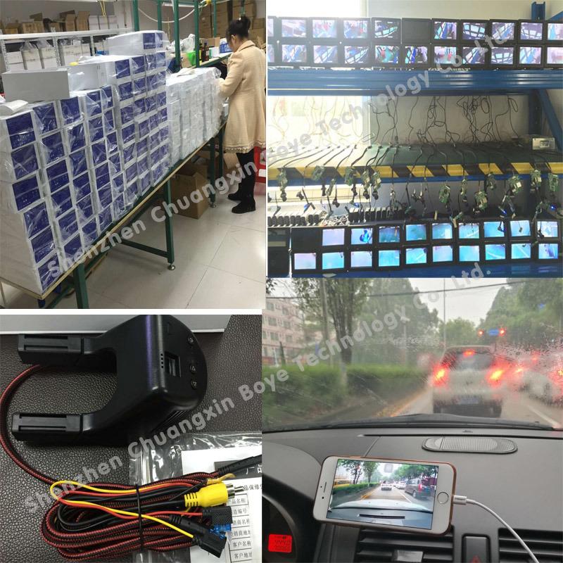 FHD Night Vision WiFi Controling Hidden The Original Car Style DVR for BMW 1/3/5 Series, X3/X5 General