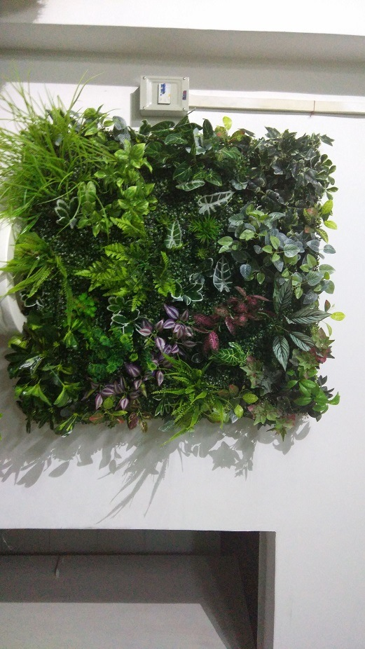 High Quality Artificial Plants and Flowers of Vertical Garden Gu-Mx2091435