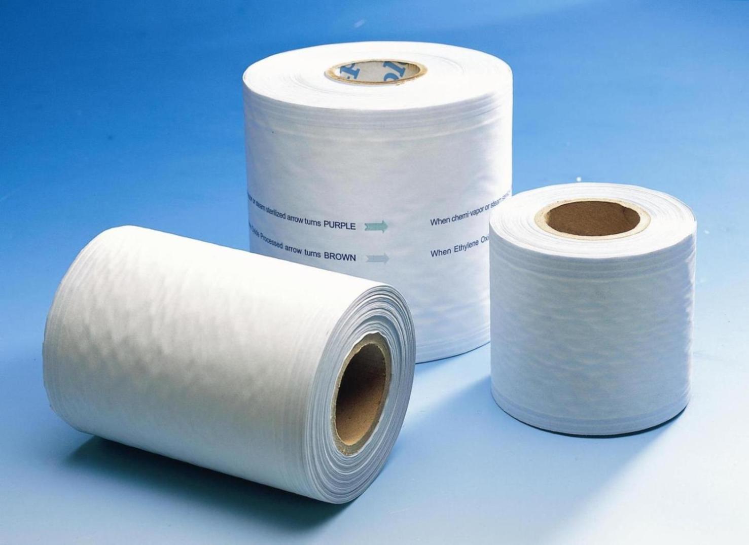Heat Sealing Sterilization Pouches, Sterilization Pouch Rolls