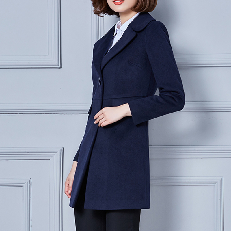 Ladies Wool Winter Wind Coat Wholesale