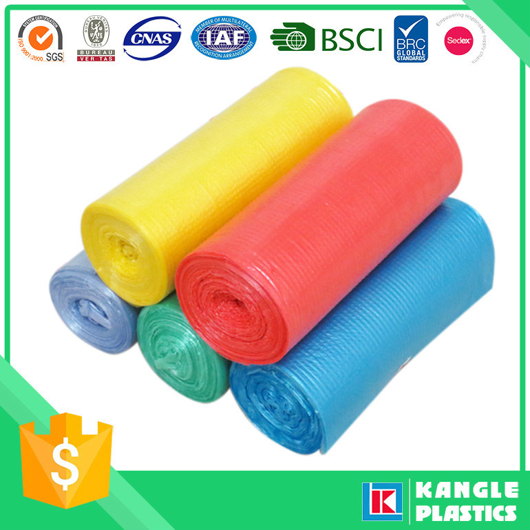 High Strenghth Star Sealed Garbage Bag on Roll