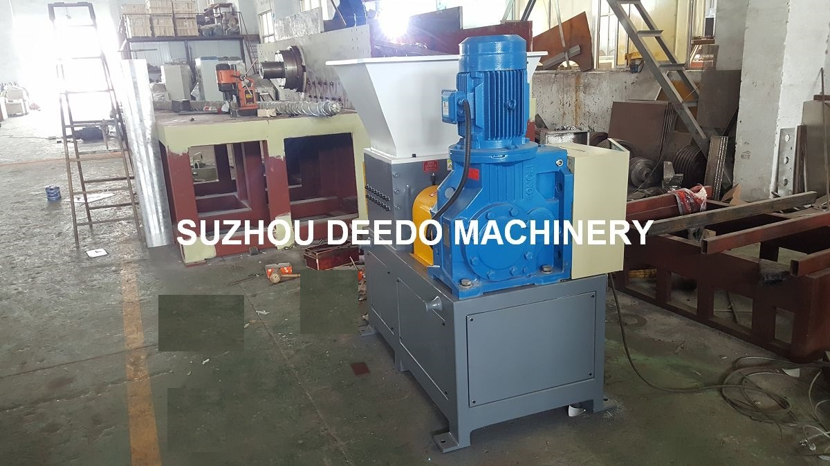 High Quality Plastic Double Shaft Shredder