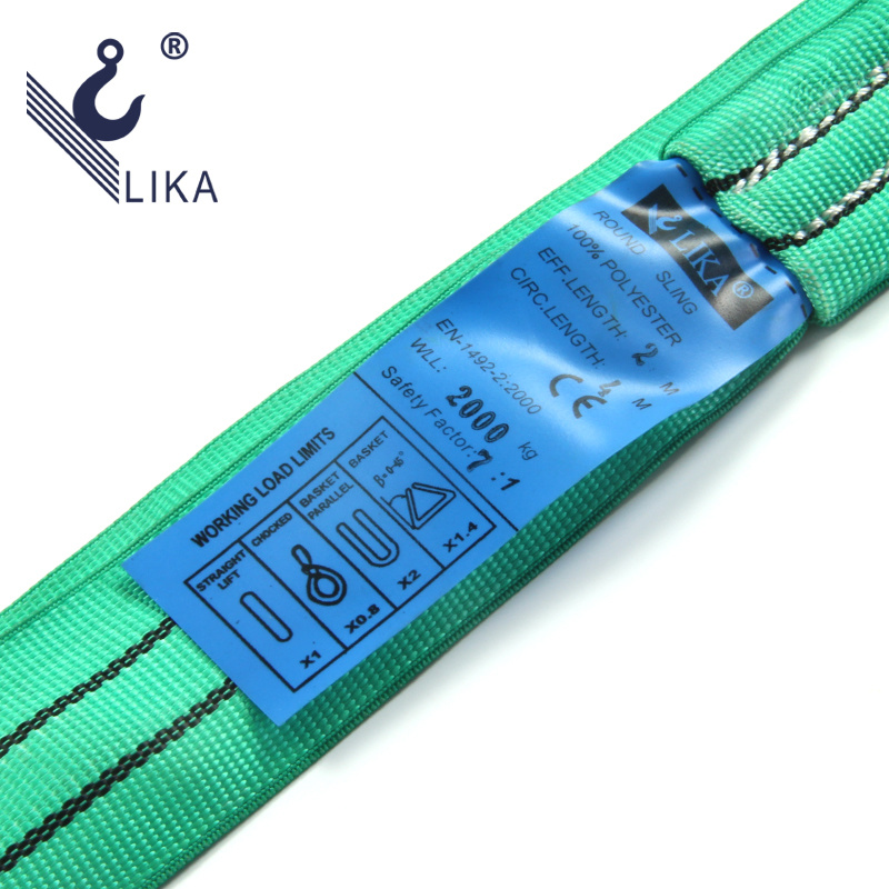 Ce GS Certificated Polyester Endless Round Sling