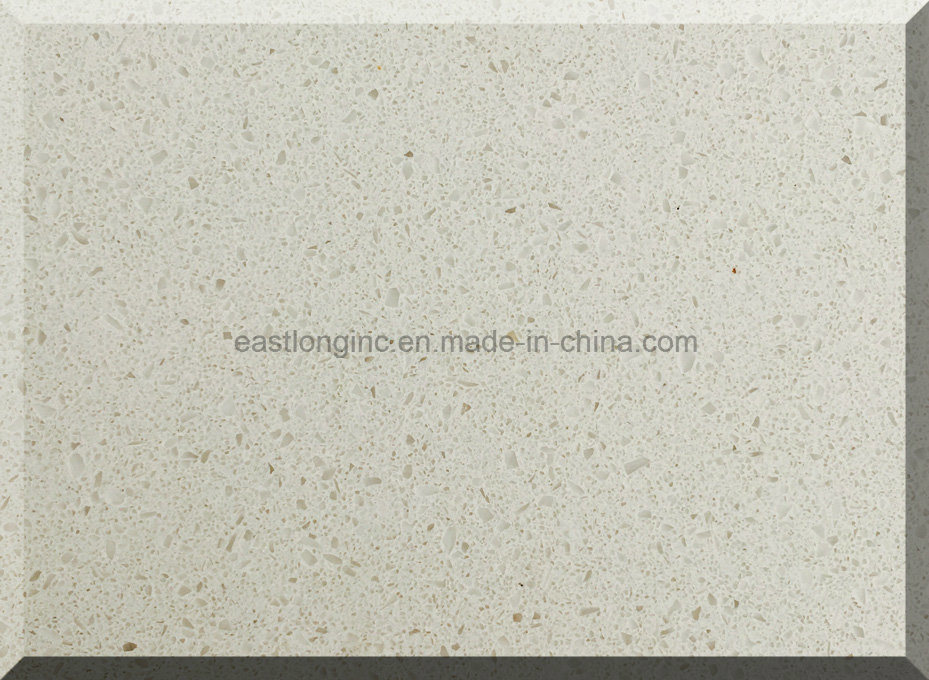 Snow White Artificial Quartz Stone for Solid Surface
