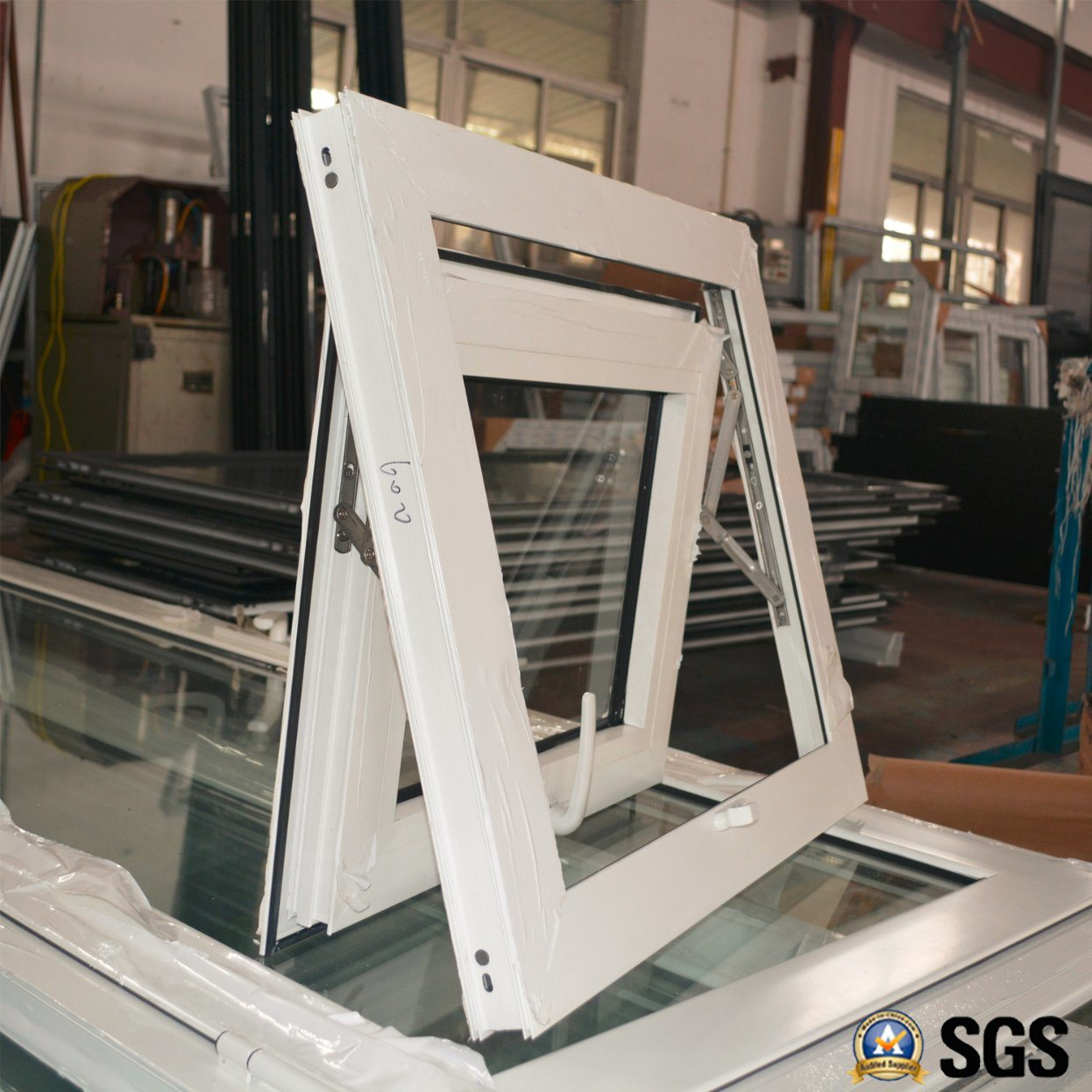 High Quality Powder Coated Aluminum Profile Awning Window, Aluminium Window, Aluminum Window, Window K05023