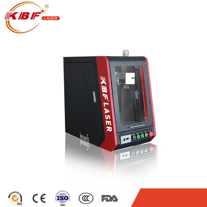 Portable Metal Closed 20W Fiber Laser Engraving Machine/ Laser Marking Machine