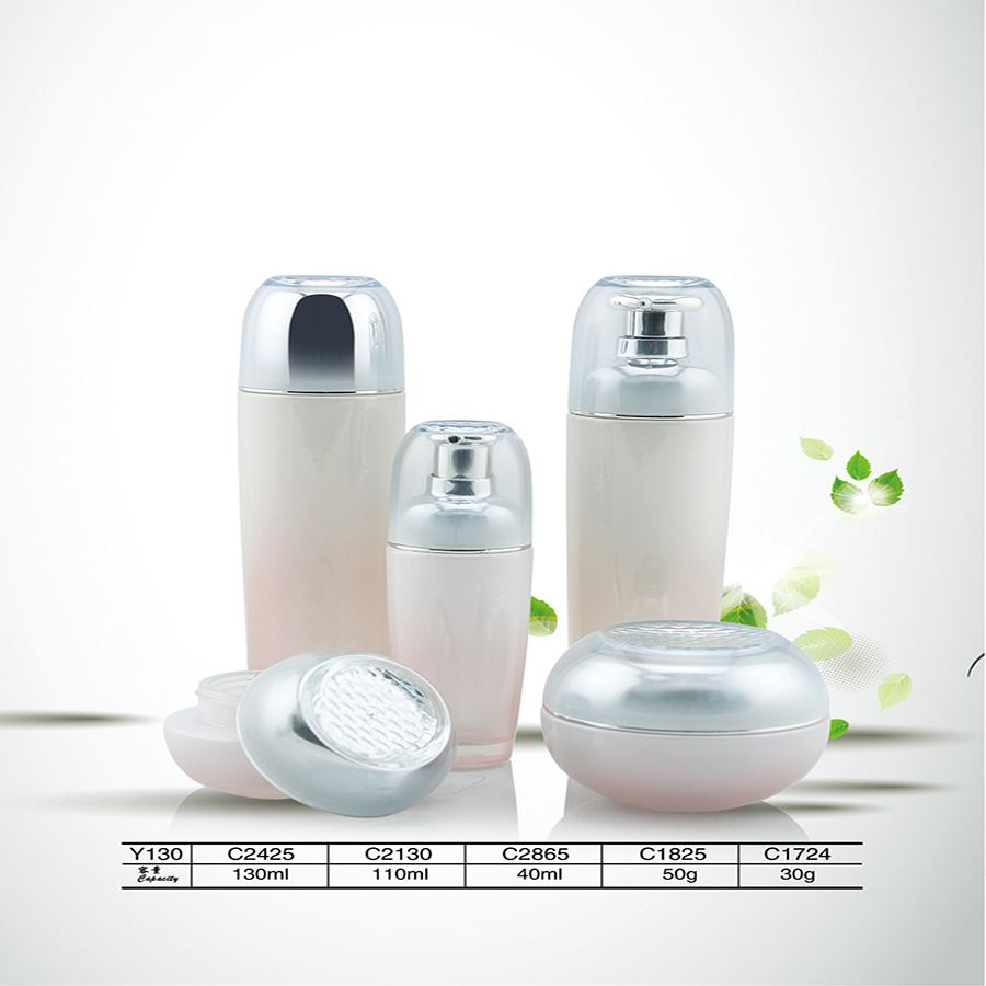 New Design 30ml & 50ml Cosmetic Empty Glass Bottle for Sales