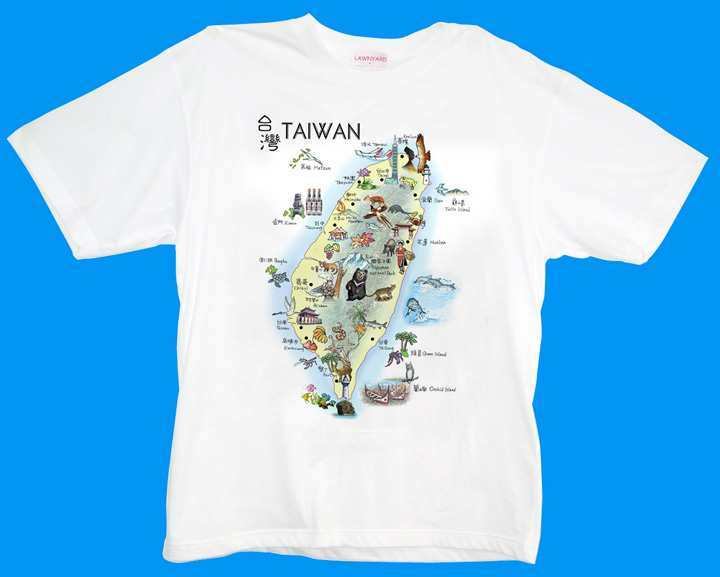 China t shirt taiwan map printing china t shirts T shirt printing china