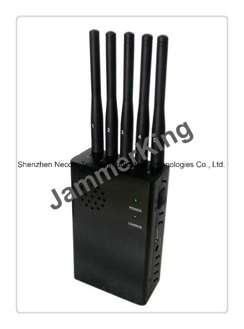 China Cheap Bestselling Mini GPS Tracker Jammer, Mini Portable GSM/CDMA/WCDMA/TD-SCDMA/Dcs/Phs Cell Phone Signal Jammer Blocker - China 5 Band Signal Blockers, Five Antennas Jammers