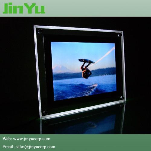 21 mm Magnetic Slim LED Crystal Light Box