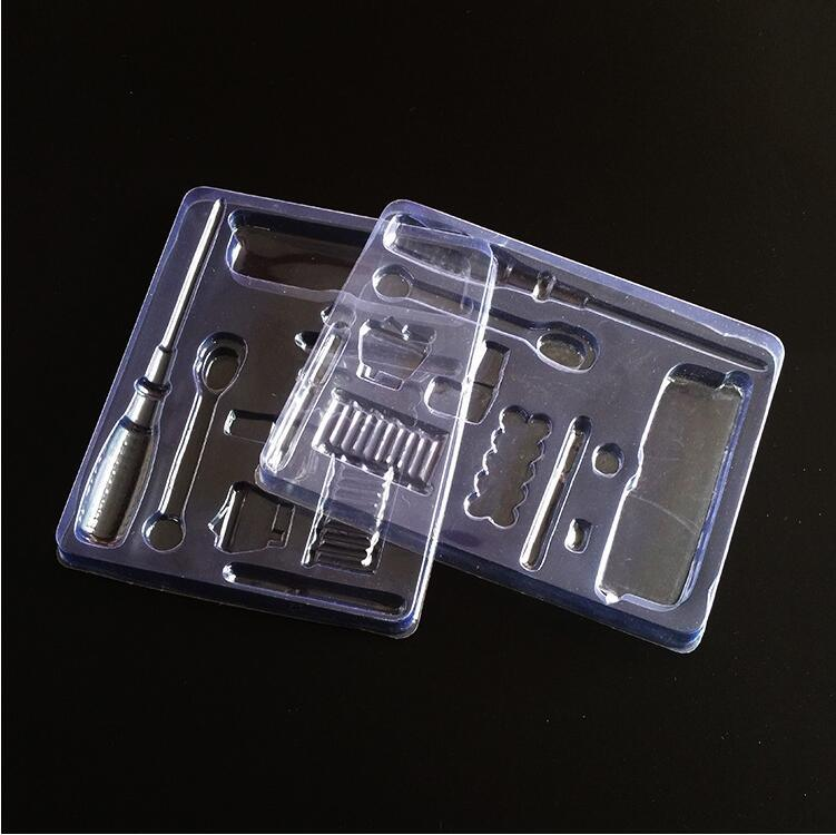 PVC Plastic Box Transparent Metal Screwdriver Plastic Packaging