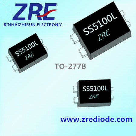 Ss5100L Low Vf Schottky Diode 5A 100V To277 Package