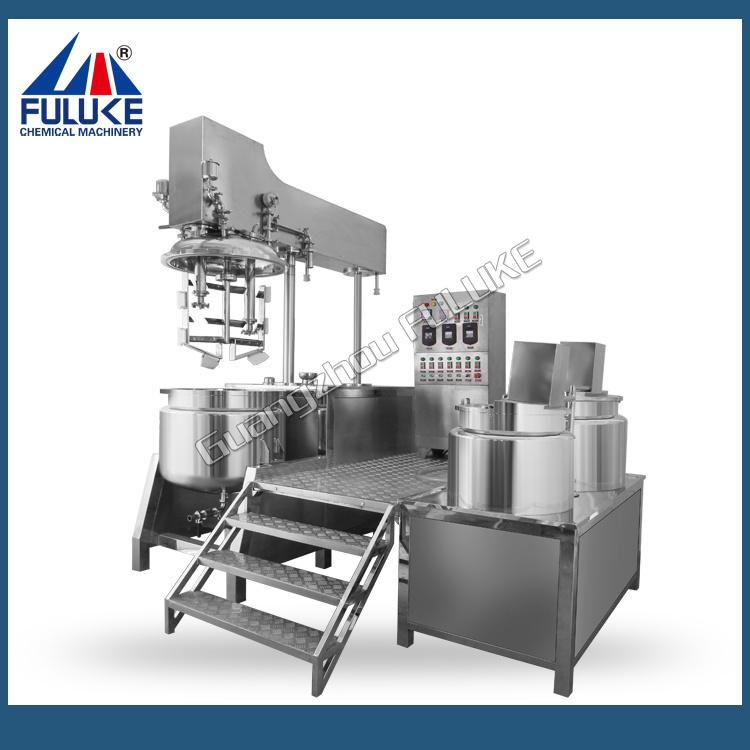 Flk Ce Vacuum Homogenizer Emulsifier Cosmetic Cream Mixing Machine