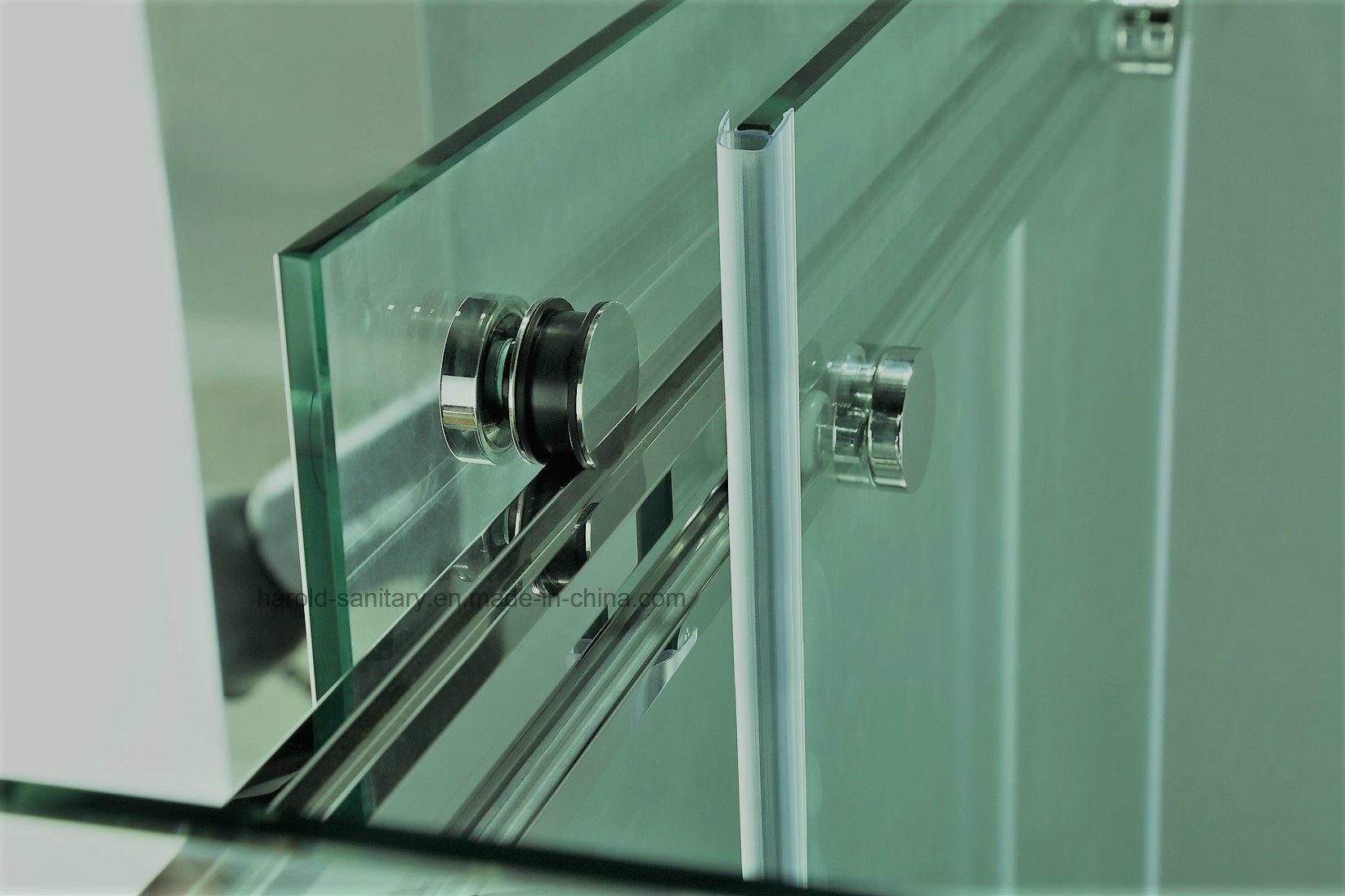 Hr-022-D Frameless Double Sliding Shower Door
