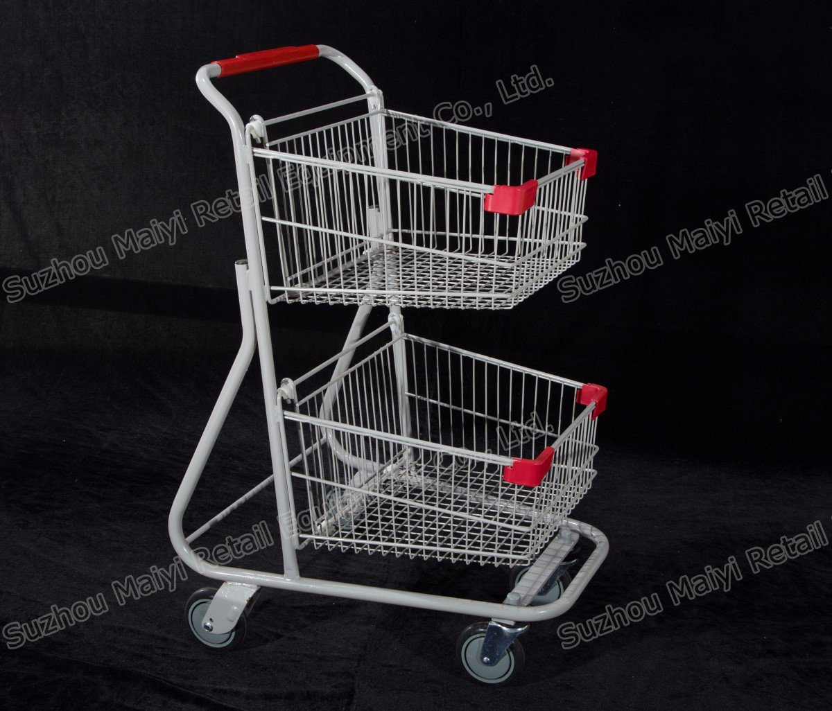 Canada Style Supermarket Retail Store Convenient Shopping Trolley